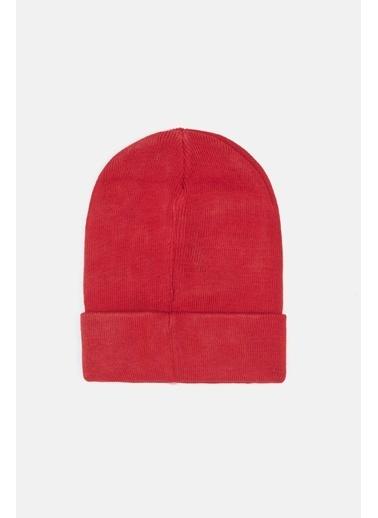 Guess Kız Çocuk Kırmızı Bere Kırmızı